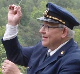 "Vår nuvarande dirigent Lars-Olof ""Sluggo"" Eriksson"