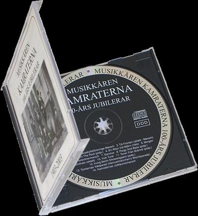 CD med fodral